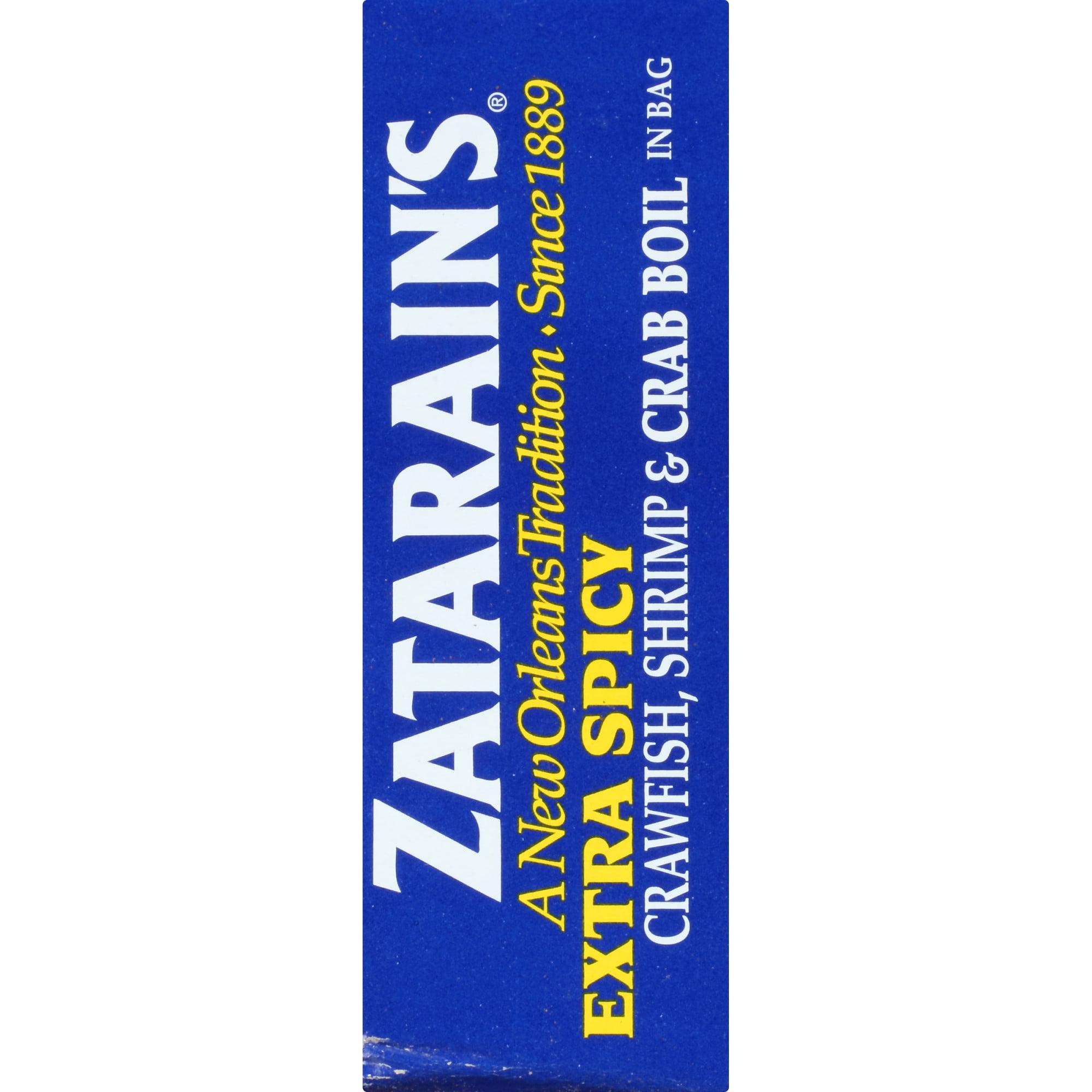 2 Pack) Zatarain's Crawfish Shrimp & Crab Boil Extra Spicy Seasoning In  Bag, 3 oz - Walmart.com - Walmart.com