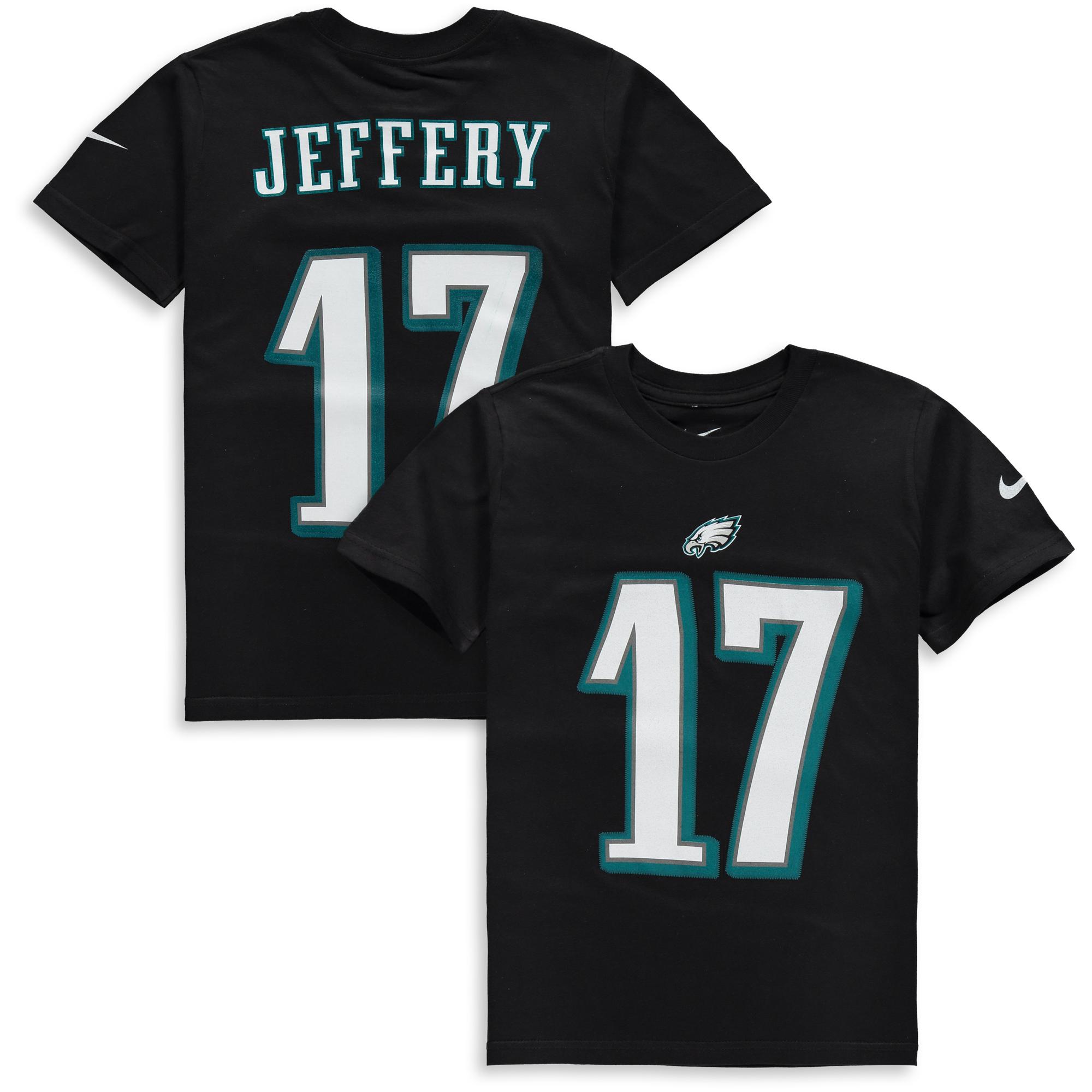 Alshon Jeffery Philadelphia Eagles Nike Youth Player Pride 2.0 Name & Number T-Shirt - Black