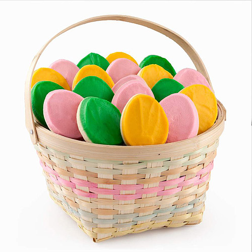 Mrs. Fields Frosted Cookie Easter Basket