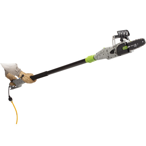 Earthwise 8 Inch 6-Amp Corded Electric 2-in-1 Convertible Electric Chain Saw/Pole Saw CVPS41008