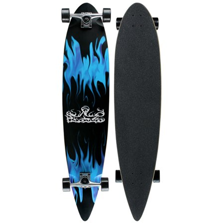 Krown Pintail Longboard Blue Flame 9