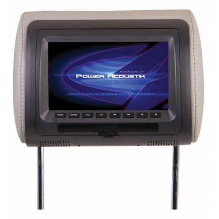 POWER HDVD71CC 7 in. Universal Replacement Headrest with DVD - image 1 of 1