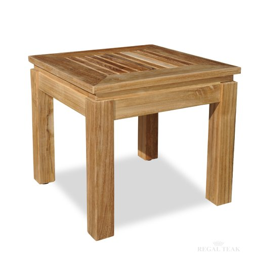 Regal Teak End Table