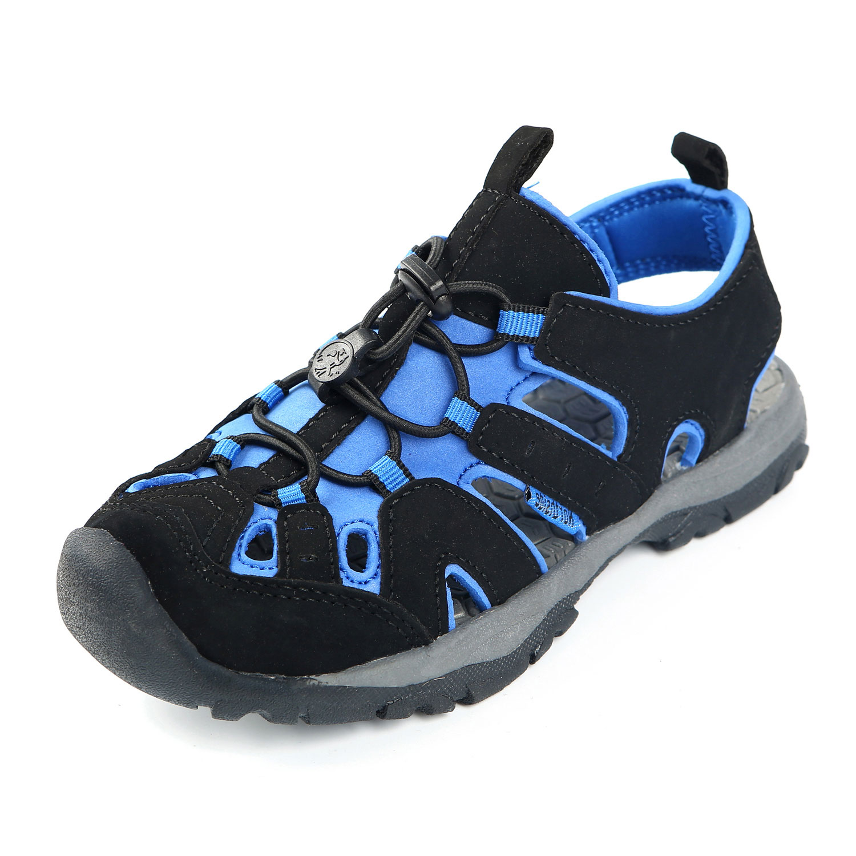 Navy//Gray Northside Boys Burke SE Sport Sandal Size 2 M US Little Kid