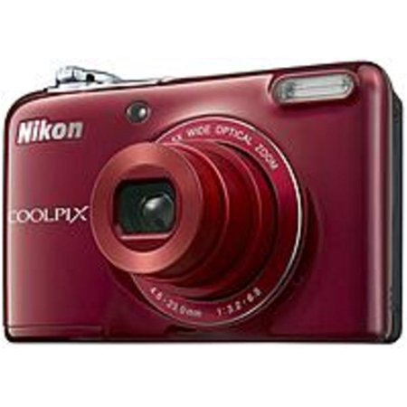 Cheap Offer Nikon Coolpix L32 018208264827 26482 20.1 Megapixels Compact (Refurbished) Before Special Offer Ends