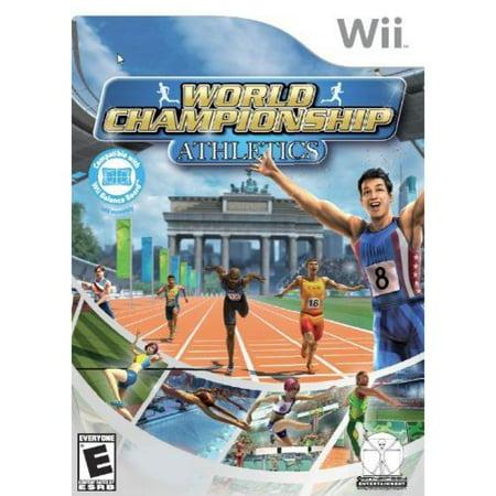 world championship athletics - nintendo wii