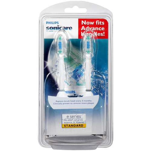 Philips Sonicare Elite Replacement Brush Heads, 2-Pack