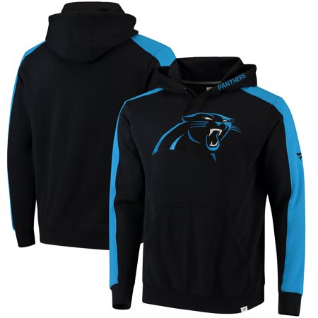 Carolina Panthers NFL Pro Line by Fanatics Branded Iconic Pullover Hoodie - (Black Carolina Panthers Sweatshirt)