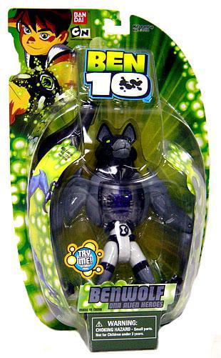 """Ben 10 6"""" DNA Figure, Benwolf Alien Hero by"""