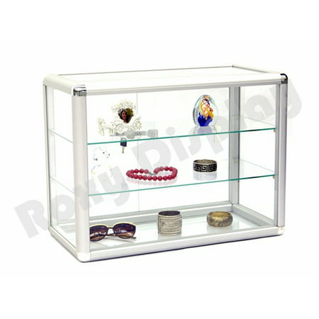 Unlighted Display Case (Glass Countertop Display Case Store Fixture Showcase #SC-KDTOP )