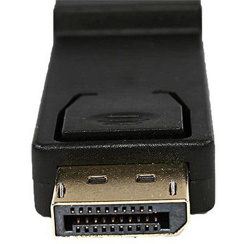4XEM DisplayPort Male to Female Adapter
