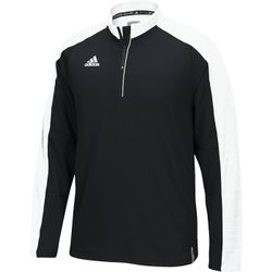 00c8e205 Adidas - adidas men's climalite modern varsity long sleeve 1/4 zip ...