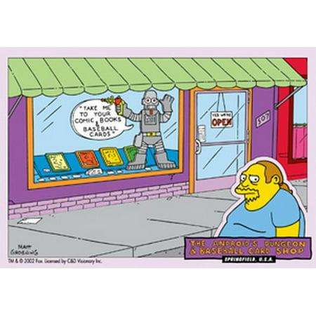Simpsons Comic Book Sticker S-SIM-0066