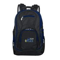 NBA Utah Jazz Premium Laptop Backpack with Colored Trim