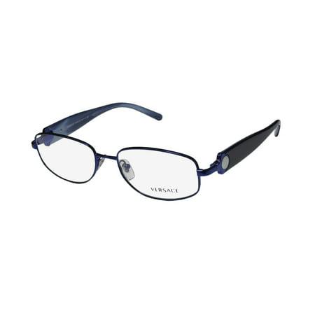 New Versace 1149 Womens/Ladies Designer Full-Rim Shiny Purple Frame Demo  Lenses 51-17-135 Eyeglasses/Eyeglass Frame