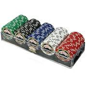 Trademark Poker Espn 100 Assorted 11.5g Championship Edition Poker Chips by TRADEMARK GAMES INC