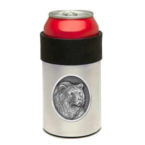 Grizzly Bear Can Cooler