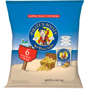 Pirate's Booty Baked Puffs, Aged White Cheddar, 1 oz, 6CT