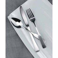 Winco Houston 3 Dozen Flatware Set, Extra Heavy 18-0 Stainless Steel Classic Old-Fashioned Dinner Spoons (Dozen Pack), Dinner Forks (Dozen Pack) and Dinner Knives (Dozen Pack), 36-Piece Set