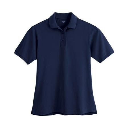Extreme Ladies' Edry Double Knit Polo Shirt 75063 Texture Knit Polo
