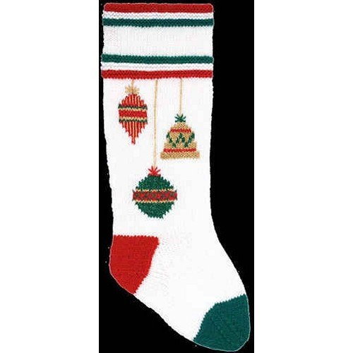 Red DooLallies Christmas Stocking Kit Rocking Horse