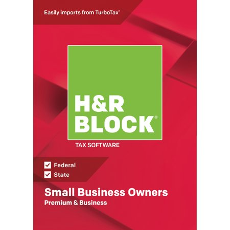 H&R Block Tax Software 2018 Premium & Business Win (Email