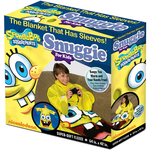 As Seen on TV Nickelodeon Snuggie for Kids, Spongebob Squarepants