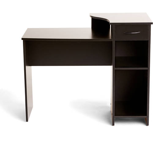mainstays student desk with easy glide drawer multiple finishes rh walmart com mainstays student desk with easy-glide drawer black wood finish mainstays student desk assembly instructions
