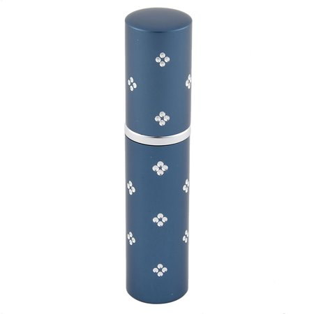 Flower Perfume Bottle - 5mL Travel Portable Flower Decor  Refillable Scent Perfume Spray Bottle Blue