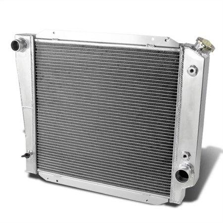 For 1998 to 2002 Ford Bronco Full Aluminum 3-Row Racing Radiator V8 4.7L/4.9L 99 00 01 V8 Supercar Racing