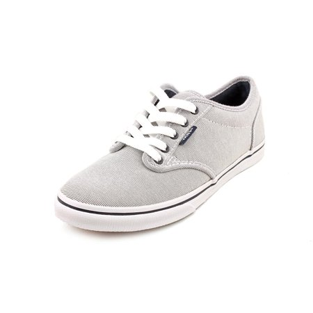 d7da40628c6 VANS - Vans Atwood Low Women Round Toe Canvas Gray Skate Shoe ...