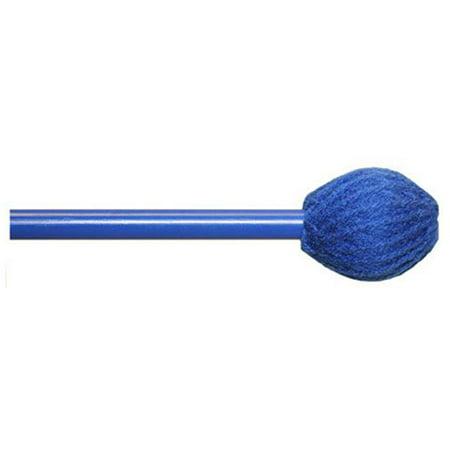 Mike Balter BB2 Basics Series Medium Keyboard Mallets w/ Birch Handles & Blue Yarn -