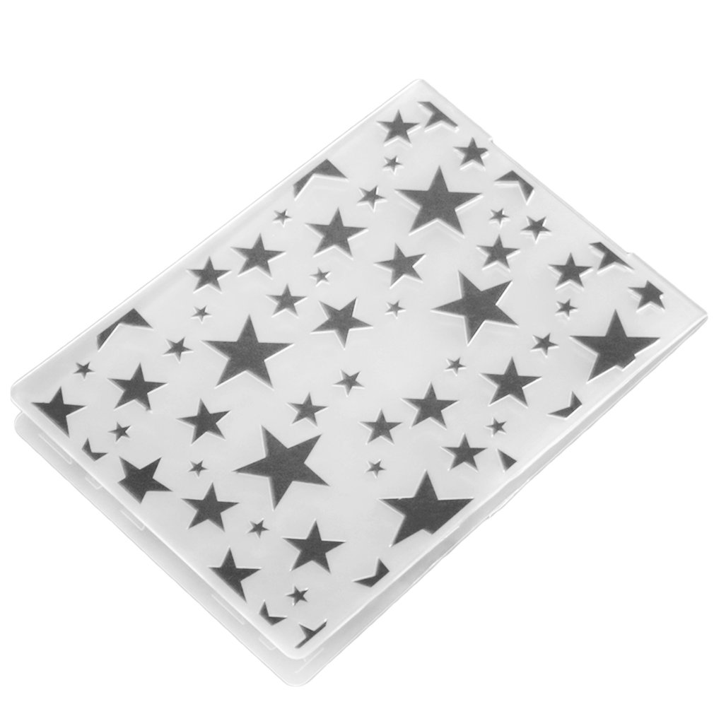 Plastic Embossing Folder DIY Scrapbooking Album Card Tool Embossing Template
