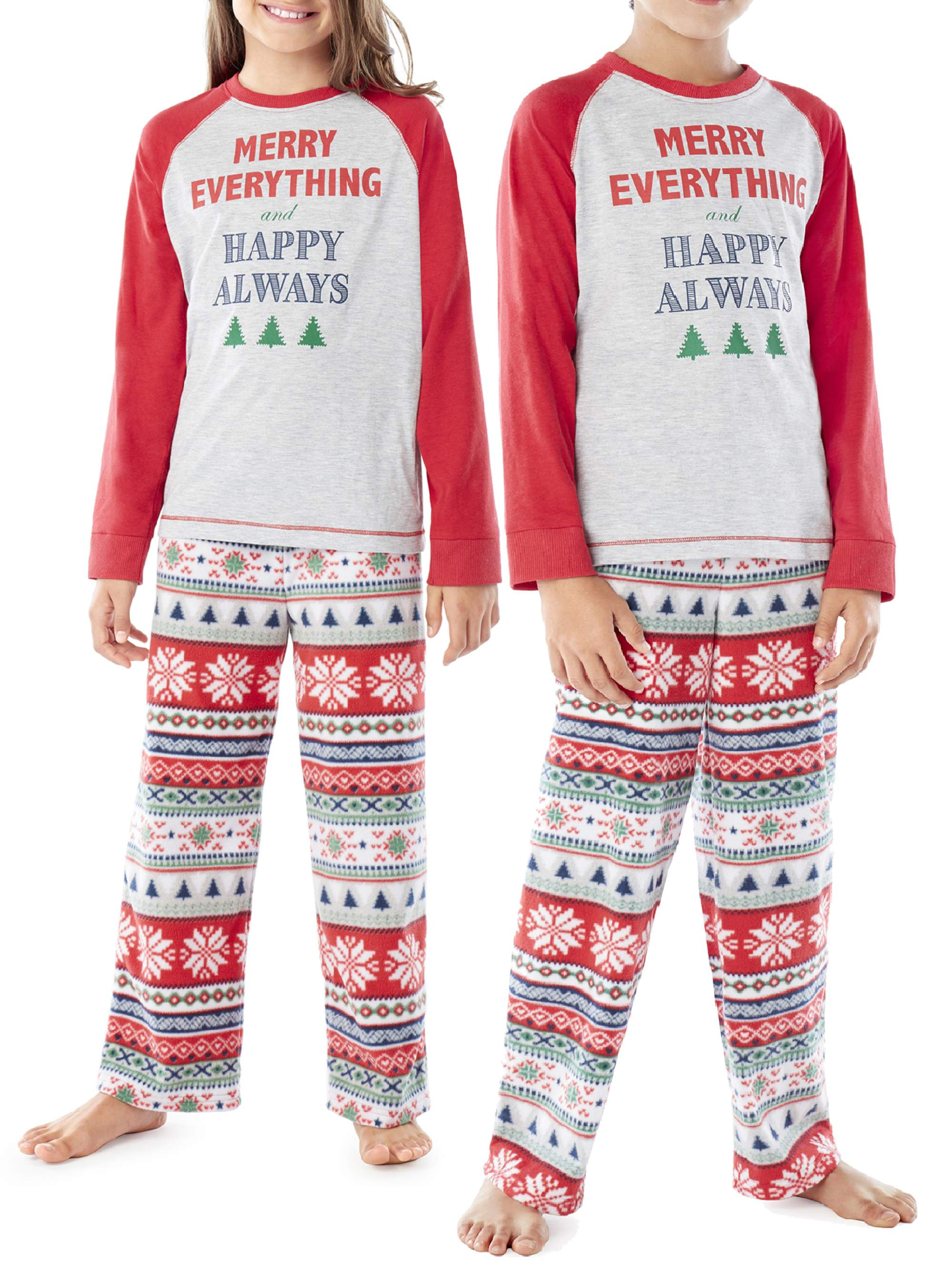Family PJs Family Sleep Merry Everything Pajamas 2-Piece Set (Boys or Girls Unisex)