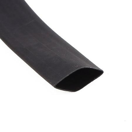 Ft 32.8 x 10mm diamètre 2:1 Isolation PE Rapport Retrait tube thermorétractable noir - image 2 de 3