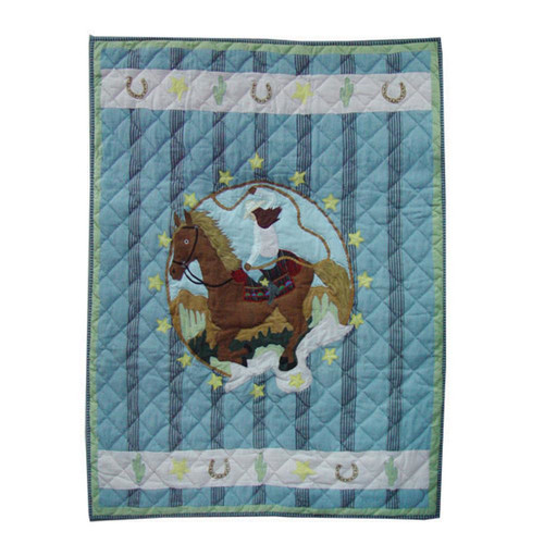 Patch Magic Lil Yeeehaw Crib Quilt