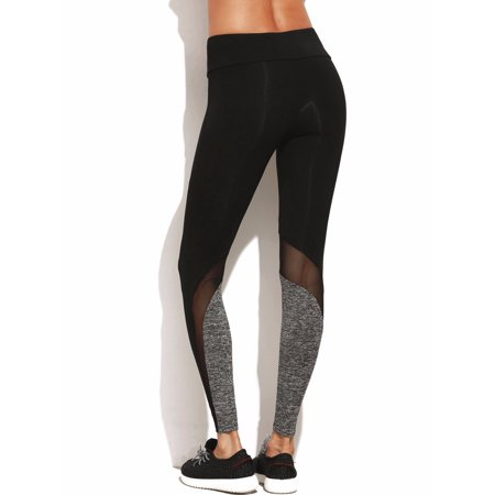 39bae7efd2c581 FITTOO - FITTOO Activewear Mesh Yoga Leggings,Pocciol Sports Trousers  Fitness Running Tights Stretch Pants - Walmart.com