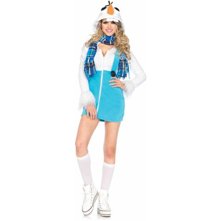 Leg Avenue Cozy Snowman Adult Halloween Costume (Abominable Snowman Adult Costume)