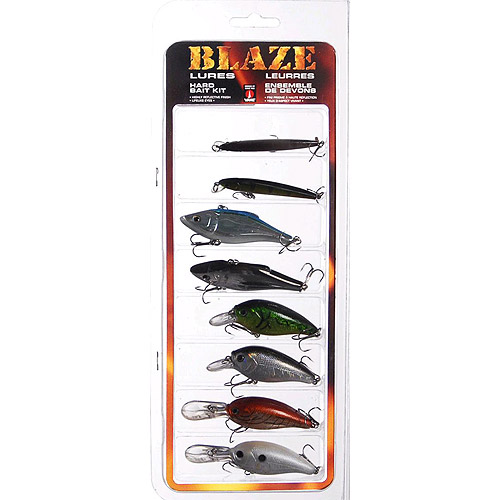 Maurice Sporting Goods BLZ-8PK Fishing Lure Kit, Hardbait, 8-Pk. by Blaze