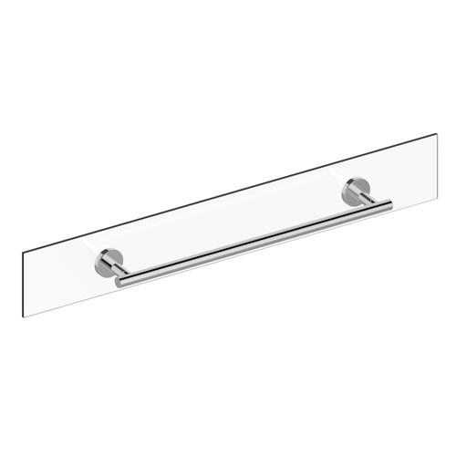 Preferred Bath Accessories Manor Glass 20'' Wall Mounted Towel Bar by