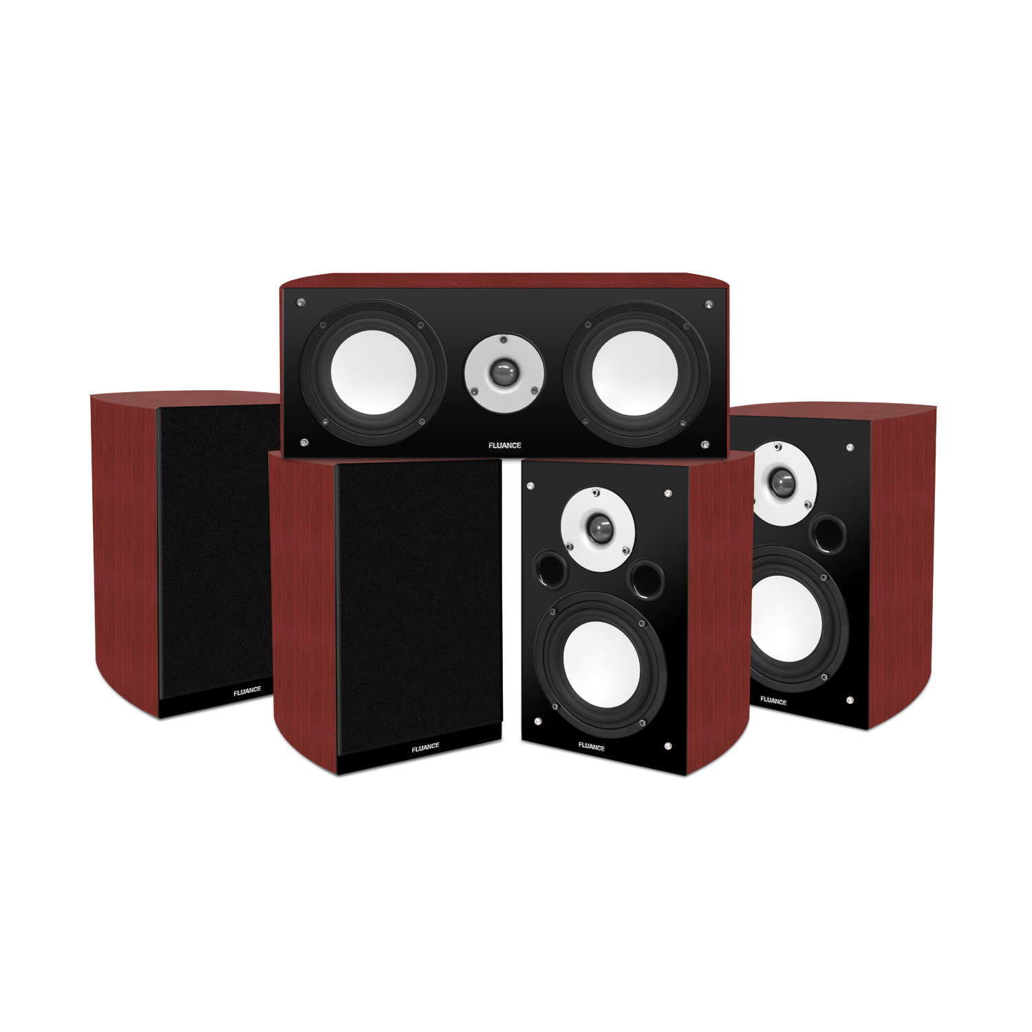 Reference Series 5.0 Surround Sound Home Theater Speaker System by Fluance