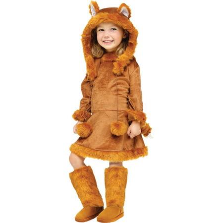 Sweet Fox Costume (Morris Costumes Sweet Fox Toddler 3-4T, Style ,)