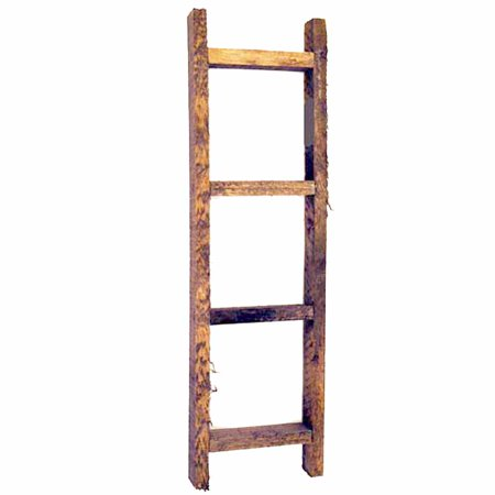 Small Wooden Decorative Ladder - Farmhouse Country Primitive Rustic Craft Decor - Primitive Halloween Crafts
