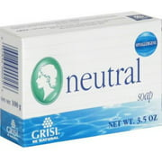 Grisi Neutral Soap, 3.5 oz (Pack of 2)