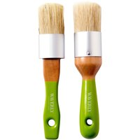 Waverly Inspirations Chalk & Wax Combination Brushes, 2 Piece