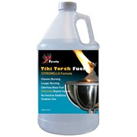 Firefly Tiki Torch Fuel w/Citronella Oil - Long Burn - Less Smoke -1 Gallon