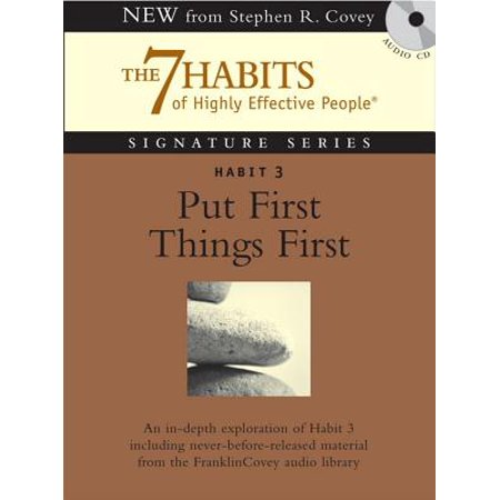 Habit 3 Put First Things First - Audiobook (Habit 3 Put First Things First Summary)