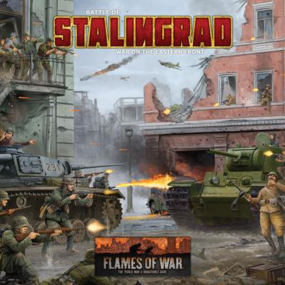 Stalingrad 2 Player Starter Set New (Halloween Safety Rules Game)