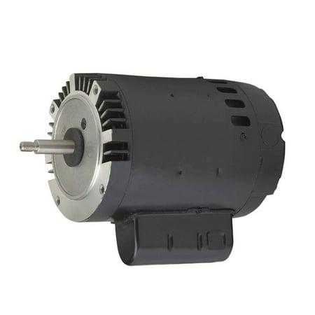 Regal Beloit 0 75 HP 3450 RPM 1 Speed Threaded Shaft Replacement Motor