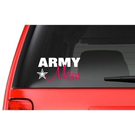Army Mom (M33) Vinyl Decal Sticker Car/Truck Laptop/Netbook Window ()